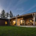 Dům inspirovaný lesem