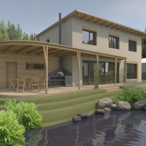 Dům s vodním světem