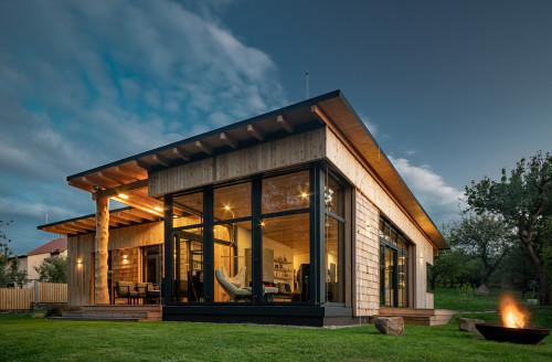 Dřevo&stavby – Dům se sloupy z Douglasky