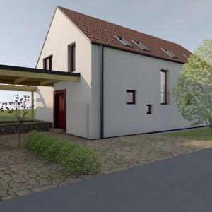 Dům s permakulturní zahradou