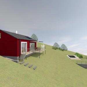 Dům falunské červeně
