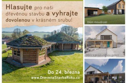 Účastníme se ankety Dřevěná stavba roku