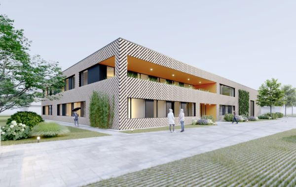 Administrativní budova s laboratořemi