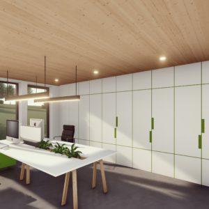 Administrativní budova s ubytováním